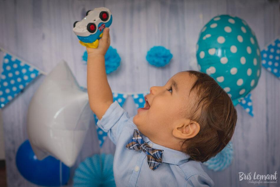 Sesión foto smash cake bebé en Tenerife Bris Lemant Fotógrafo de boda